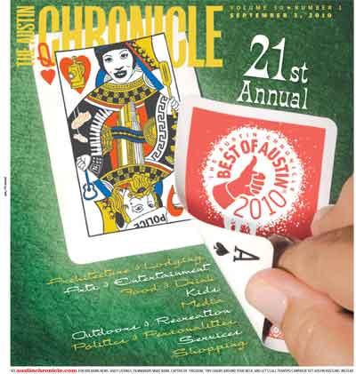 Austin Chronicle 2010 Reader's Choice Awards