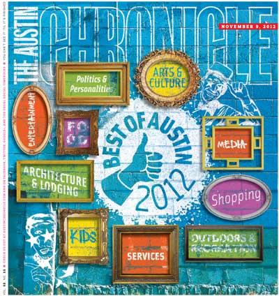 Austin Chronicle 2012 Reader's Choice Awards