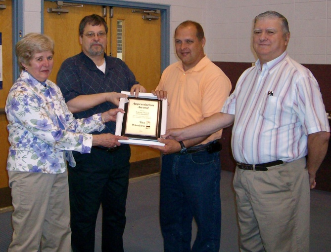 Bethany Church of The Brethren 2010 Supporter of The Year