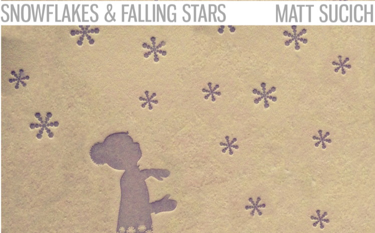 Snowflakes Falling Stars image