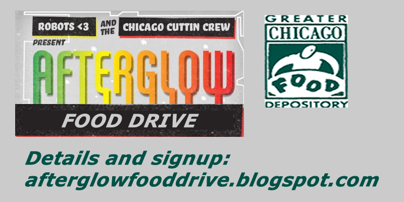 Afteglow  Food Drive Flyer