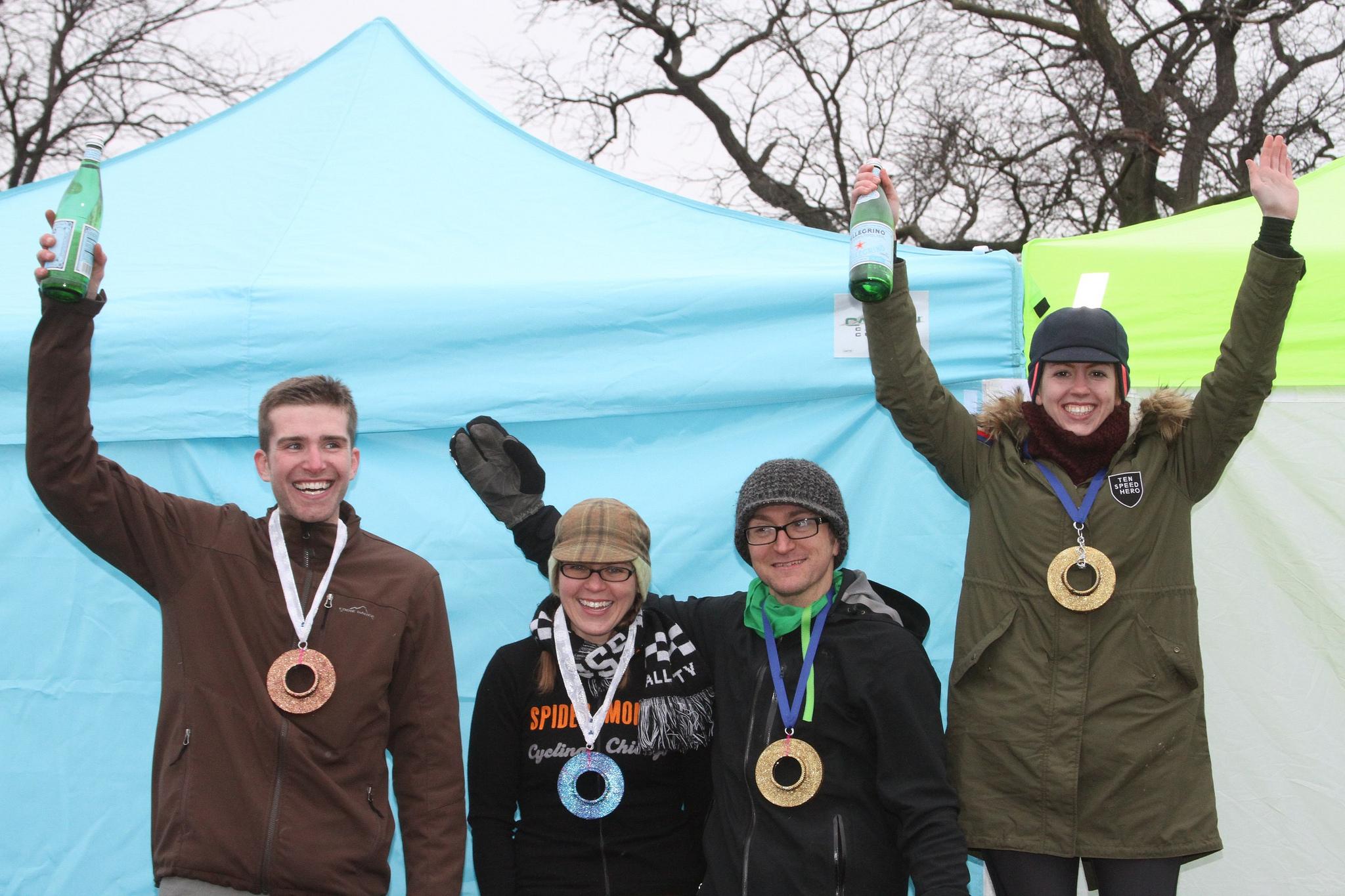 Photo by Amy Dykema  2014 Results: 1) Sophia Robinson, 24 laps; 2) Kristen Hosey, 23 laps; 3) [tied] Kelly Clarke & Brent Wegscheid, 22 laps; 5) [tied] Lucas Seibel & Steve Biedron, 17 laps