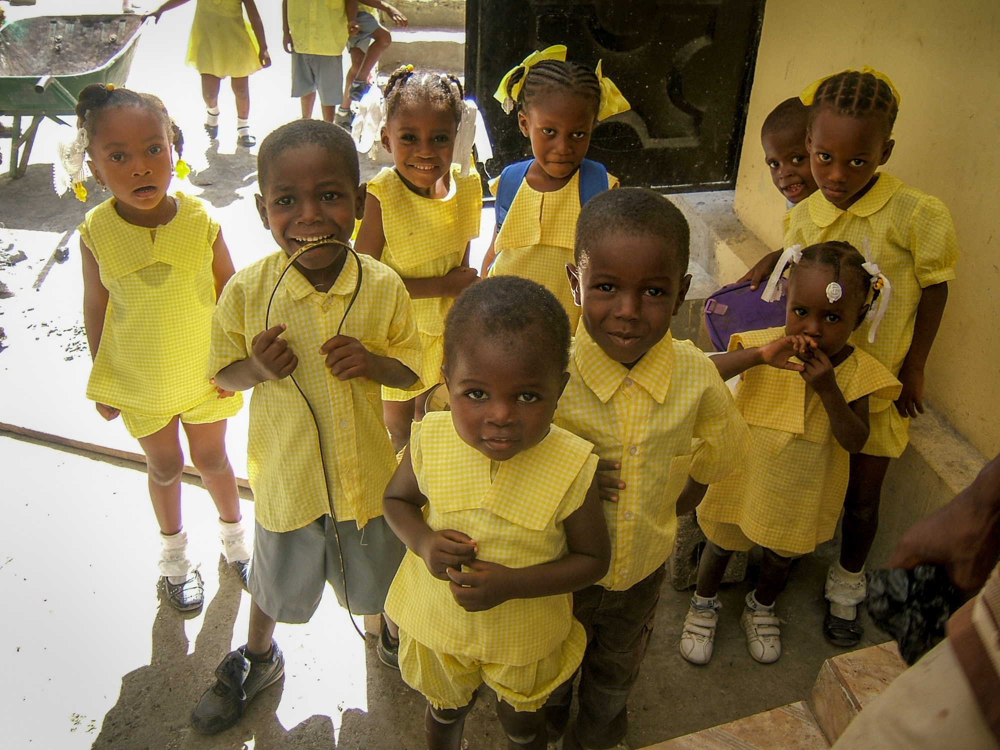 Children at Thomás School