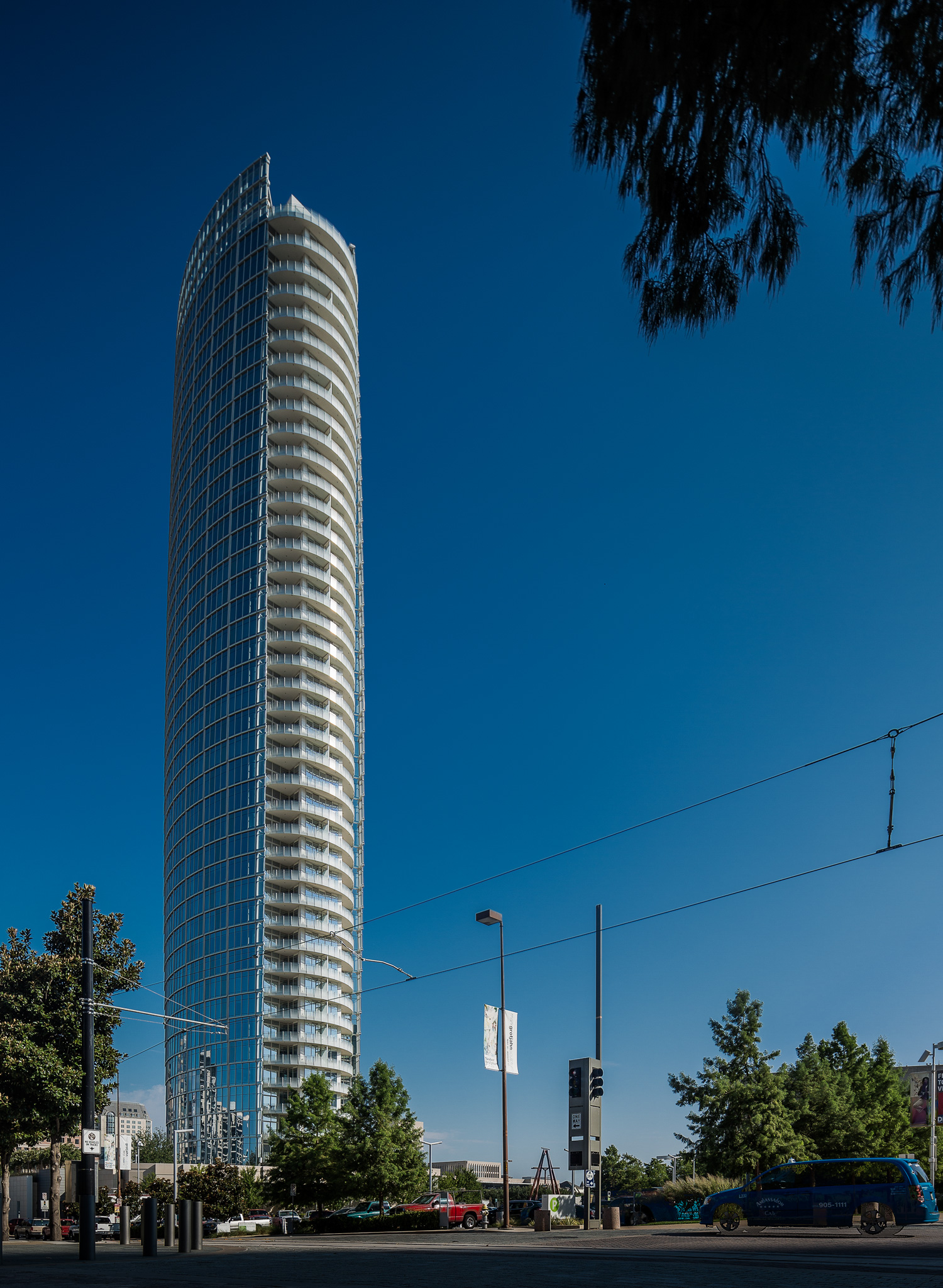 "Museum Tower residential ""sky-rise"""