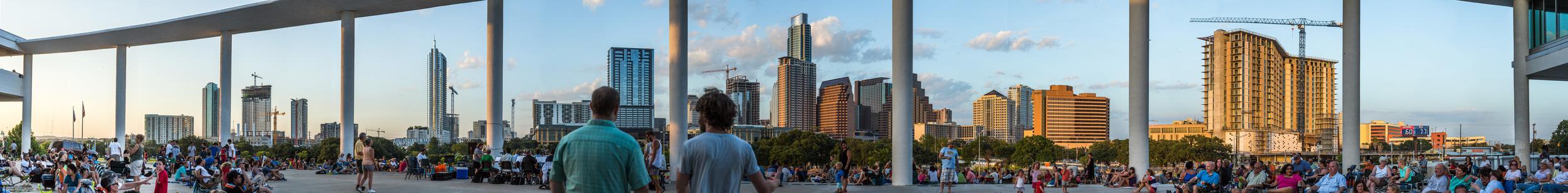 Long Center Skyline Panorama #2