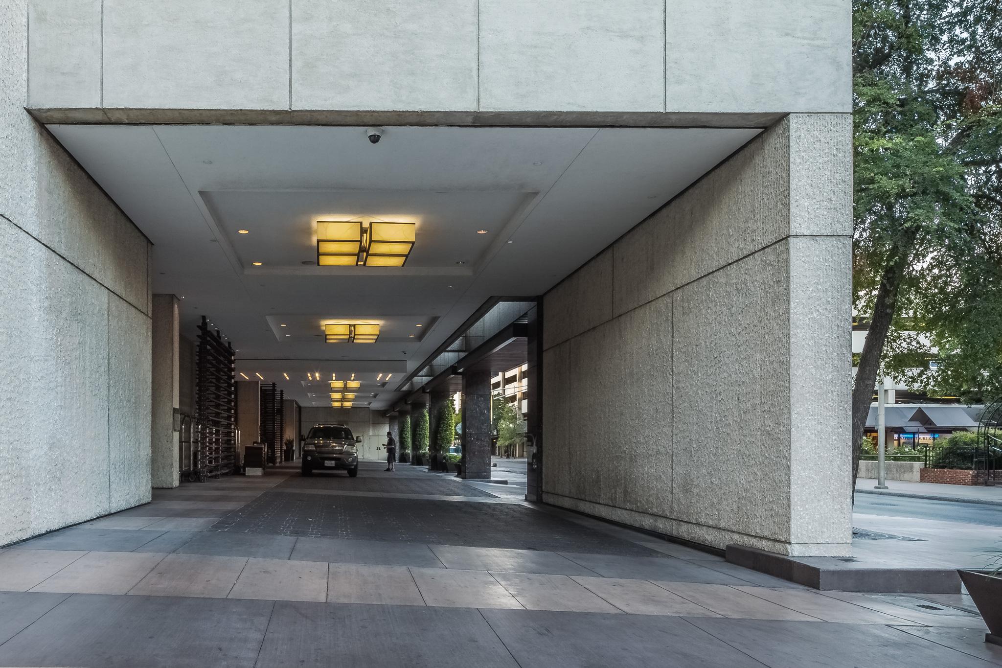 Hyatt Regency hotel entry