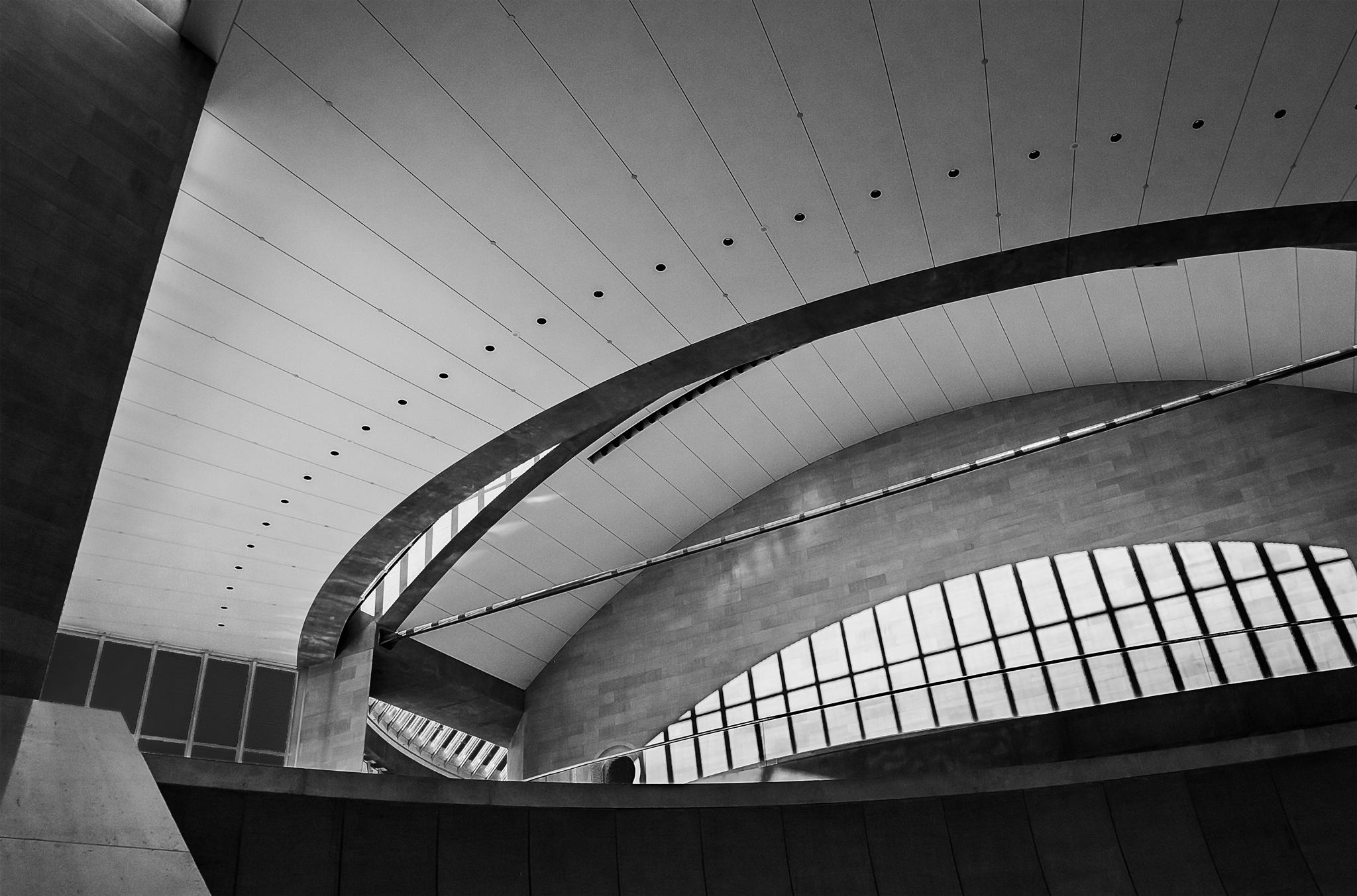 Myerson Symphony Center Lobby Detail