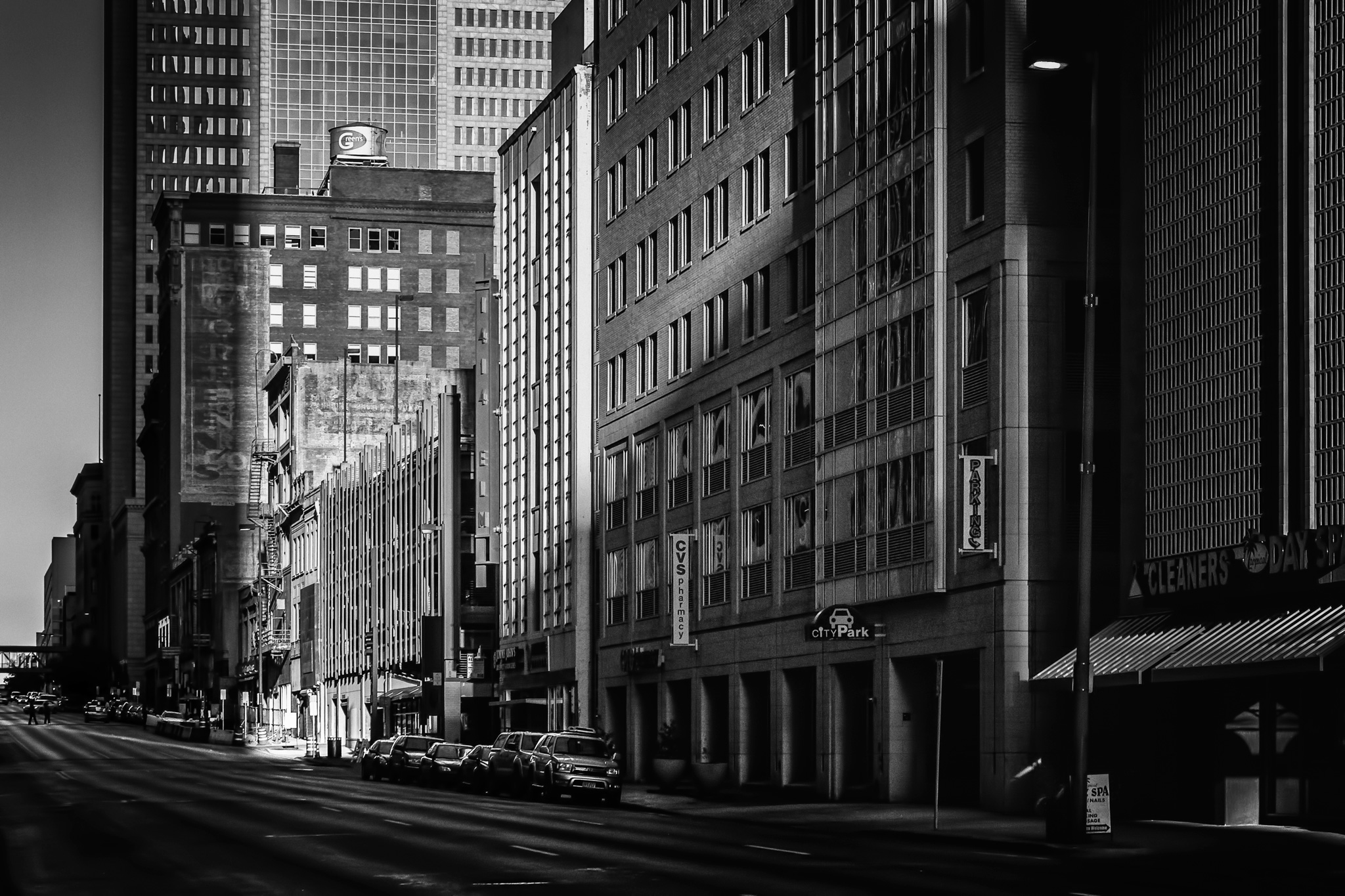 Downtown Dallas — Mid-morning