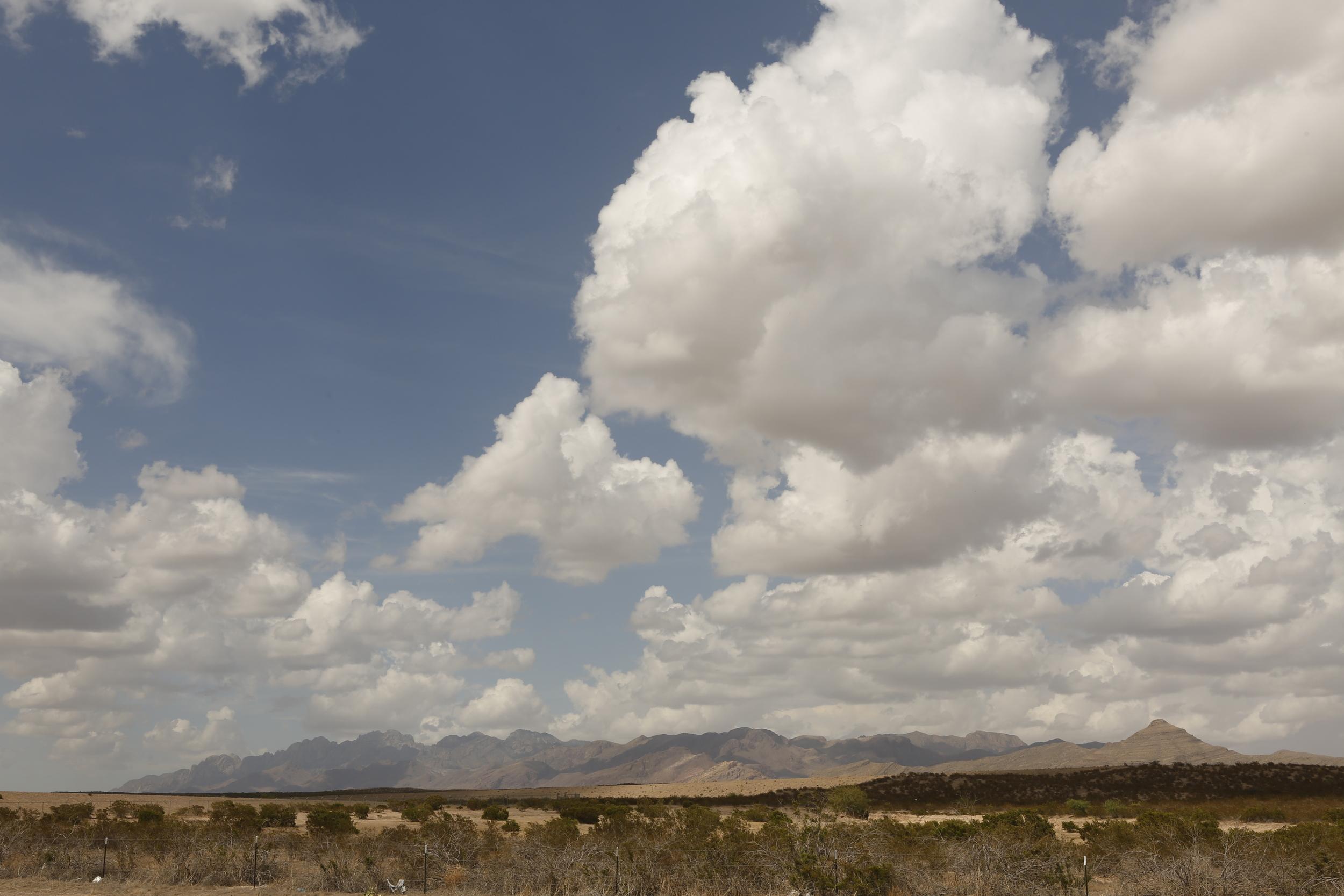 Somewhere between El Paso and Las Cruces