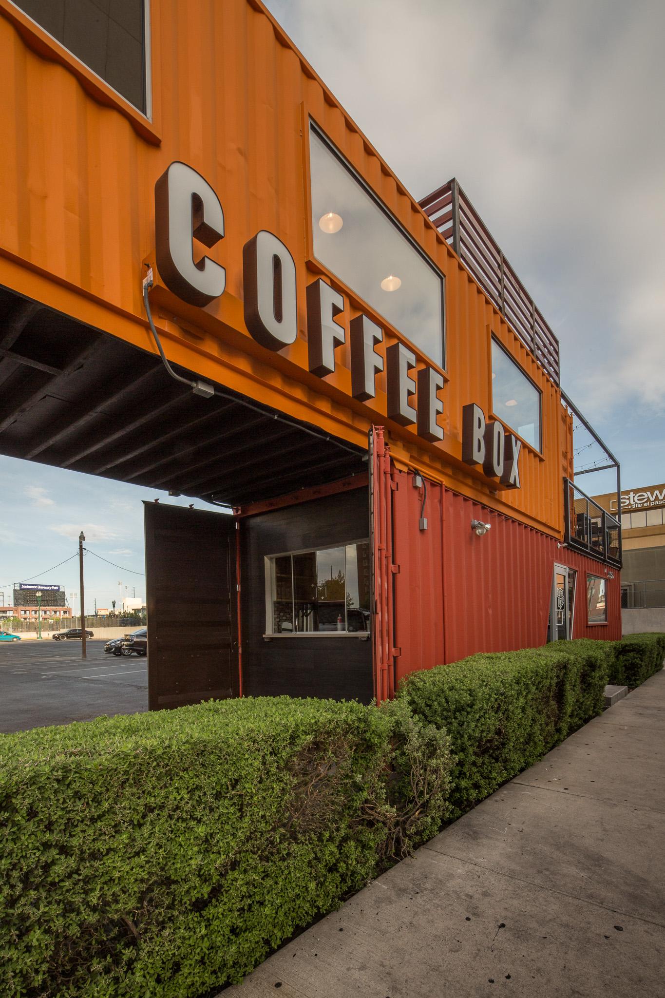 Coffee Box - El Paso