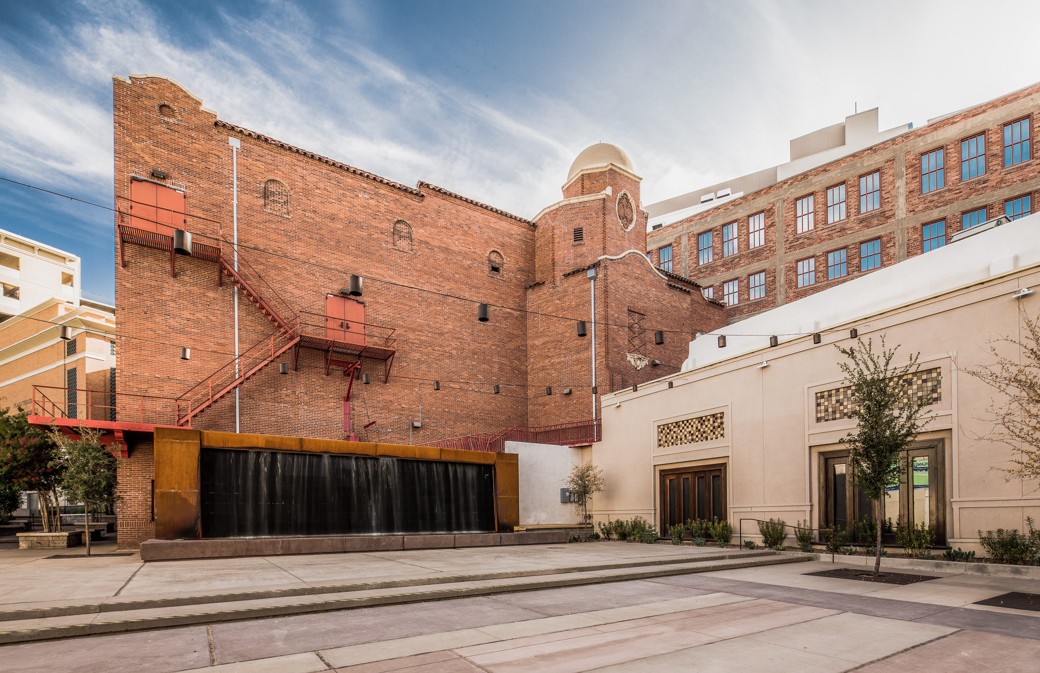 Back of the Plaza Theater - El Paso