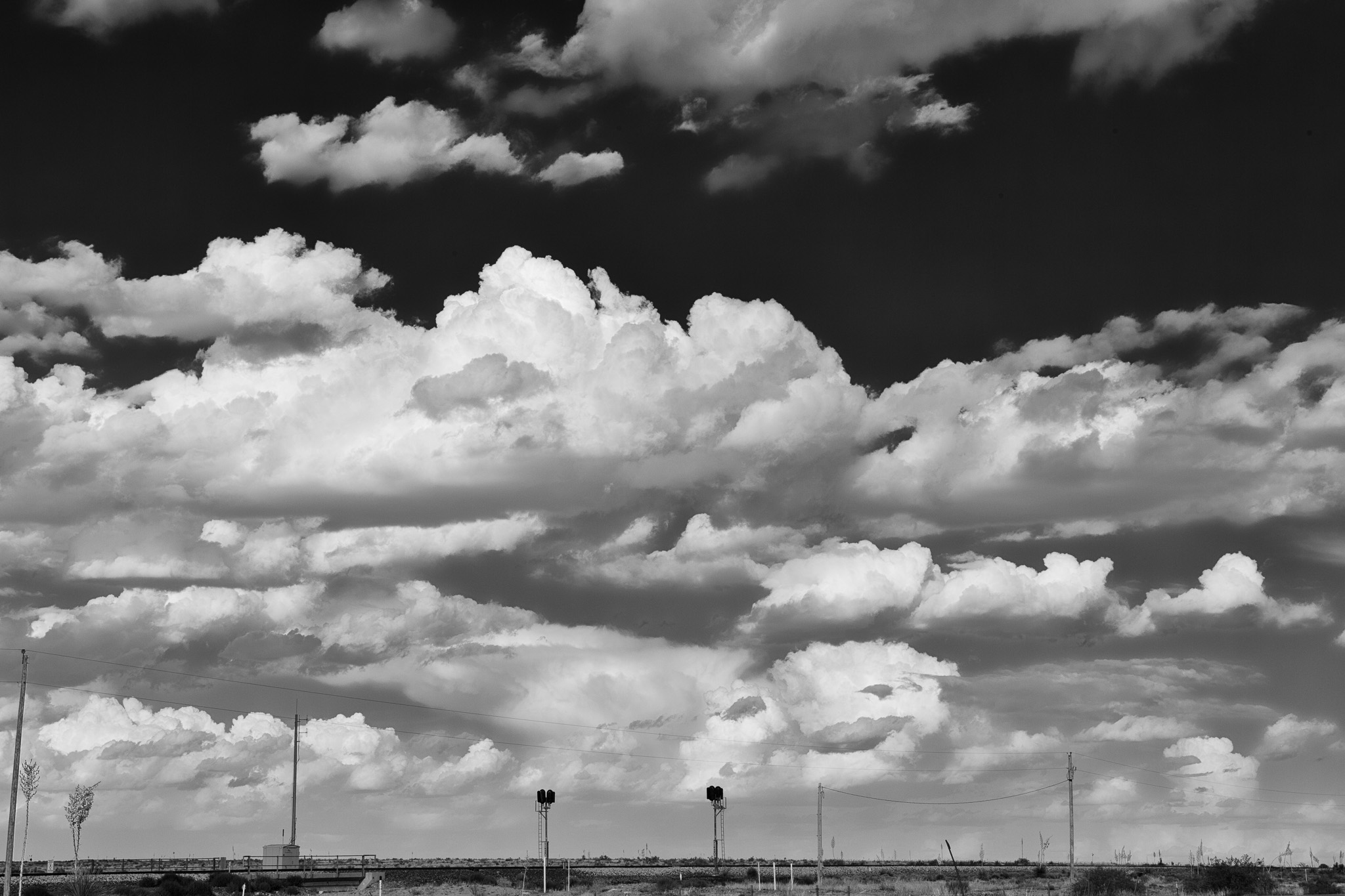 Waiting for the Train / South of Las Cruces