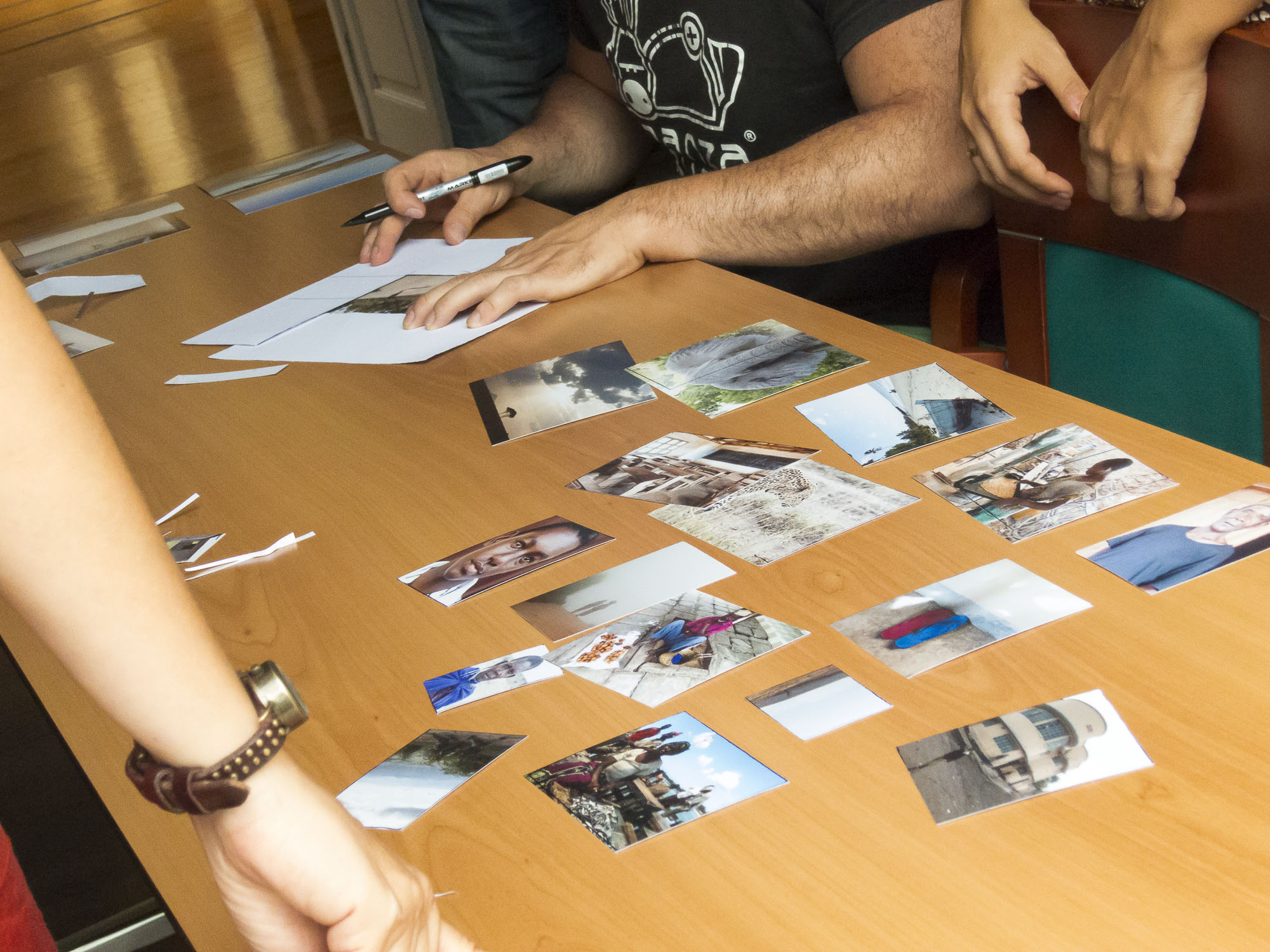 Editing and sequencing photography course with Tomás Correa