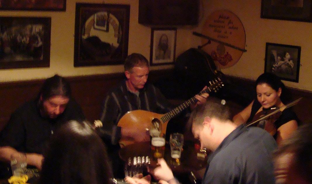 A session in Matt Molloy's in Westport
