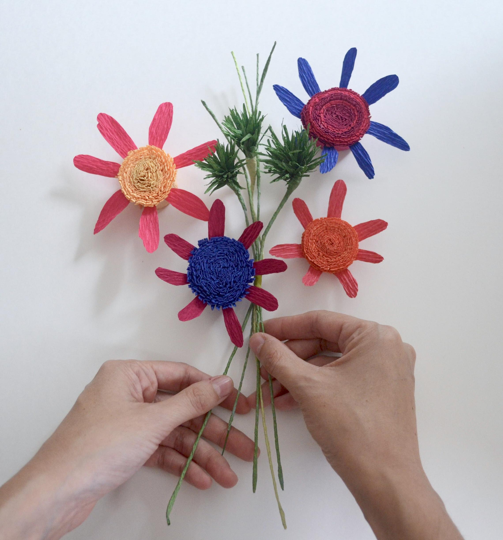 (paper) Bouquet of Peace - Pablo Picasso