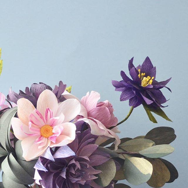 💕💕💕💕 . . #madewithlia #paperflowers #paperart #papercraft #bostonpaperflorist #paperbouquet #bostonpaperflowers #paperflorist #madetocreate #imsomartha #makersbiz #makersmovement #lgenpaper #etsysucces #craftsposure #dsfloral