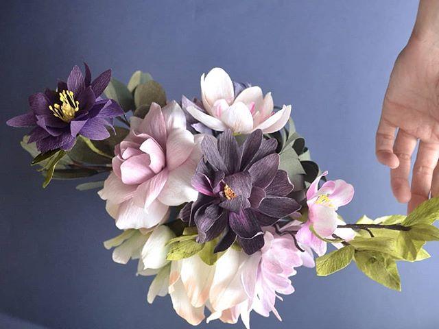 🐭❄️🐭❄️🐭❄️🐭❄️ . . . #madewithlia #paperflowers #paperart #papercraft #bostonpaperflorist #paperbouquet #bostonpaperflowers #paperflorist #madetocreate #imsomartha #makersbiz #makersmovement #lgenpaper #etsysucces #craftsposure #dsfloral