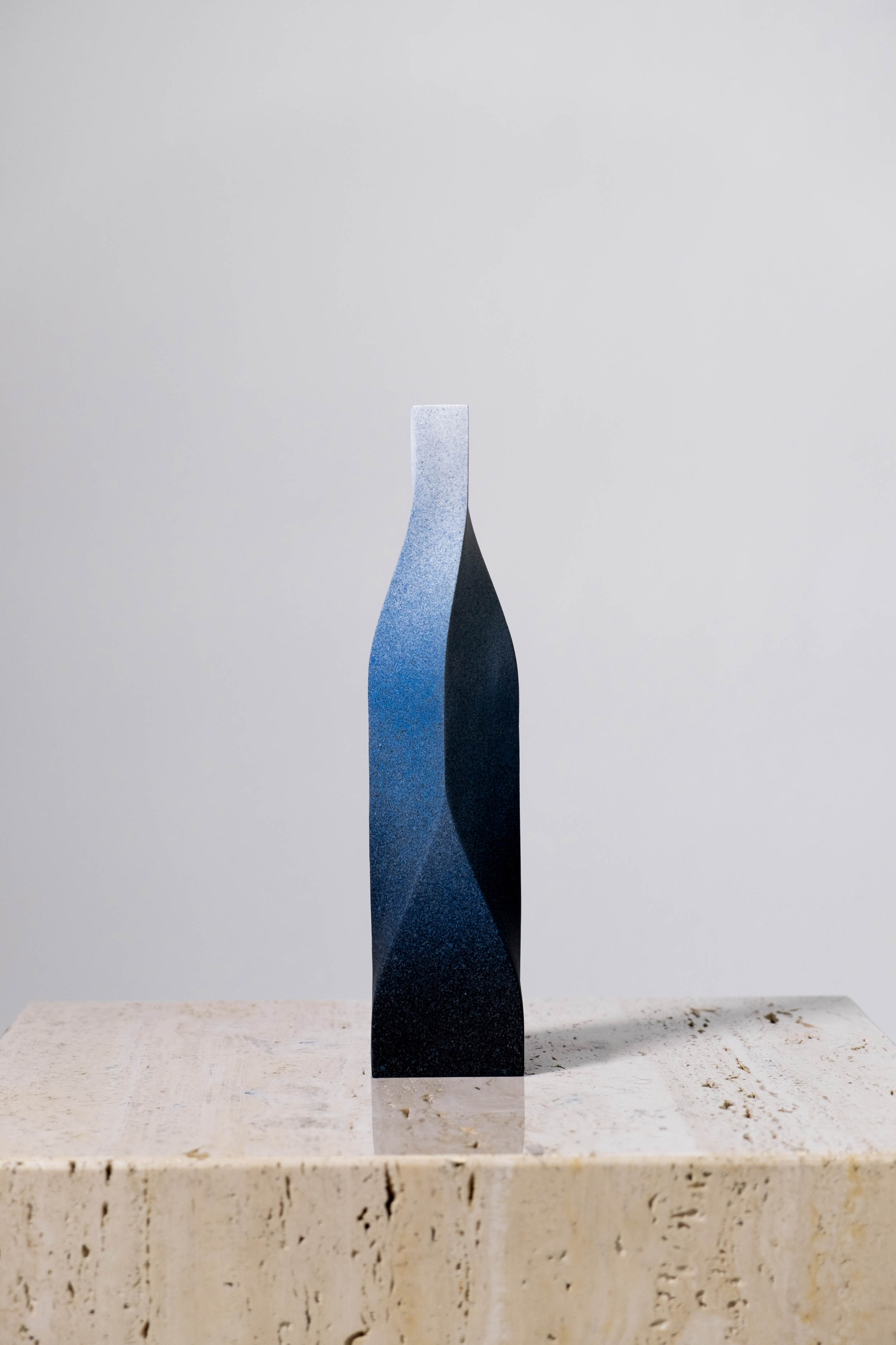 """LIGHT AND DARKNESS TYPE A  FRUSTRATED, 2014  Underglazed stoneware  H 11"""" x W2-5/8"""" x D 2-5/8"""""""