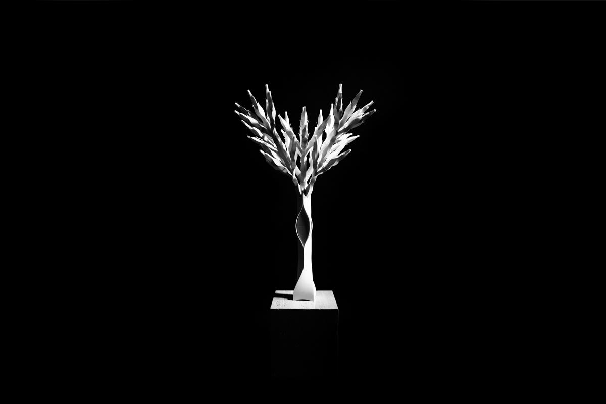 04/01/2016  빛과 어둠의 나무. Tree of light and darkness.