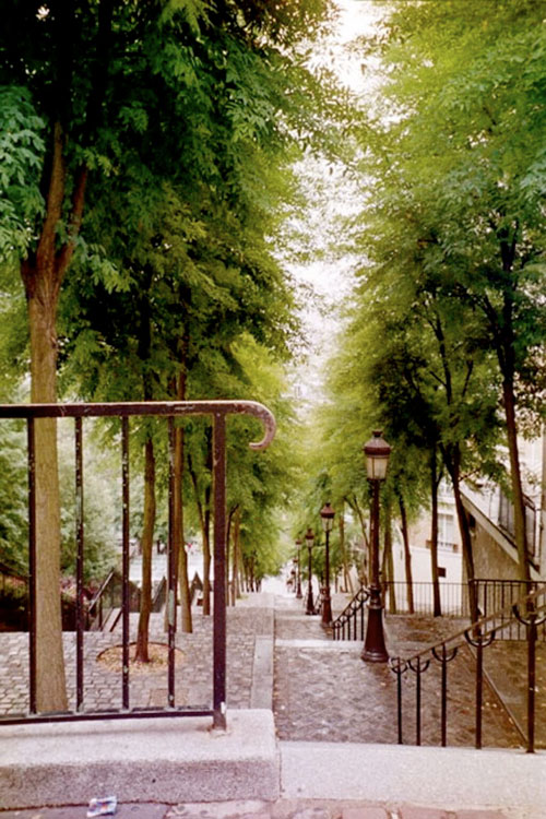 Steps at Montmartre