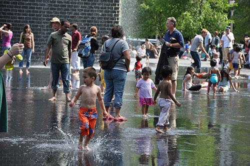 Crown Fountain at Millennium Park