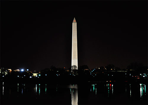 Washington Monument and the Potomac
