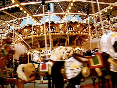 DUMBO carousel
