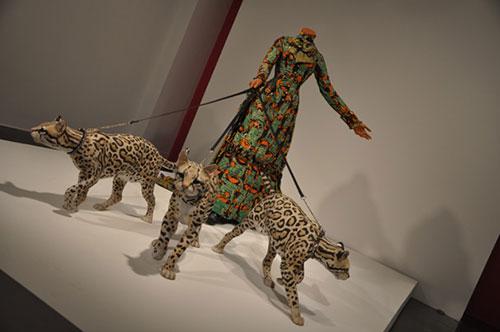 Yinka Shonibare at the Brooklyn Museum