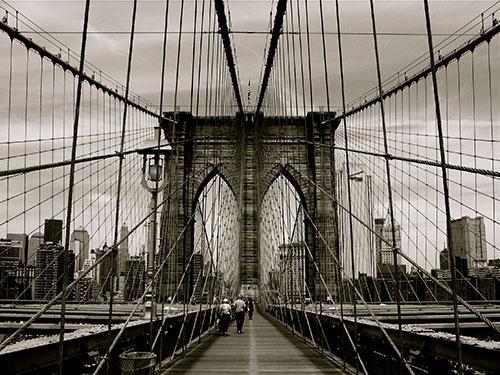 Brooklyn Bridge pedestrian/bike path