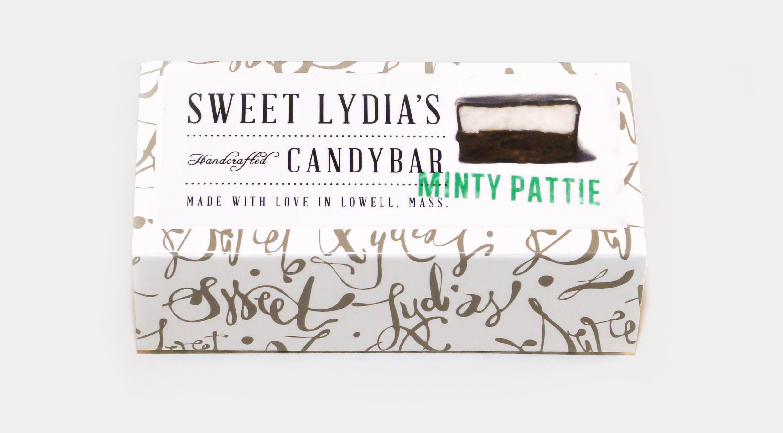 Sweet Lydia's package design