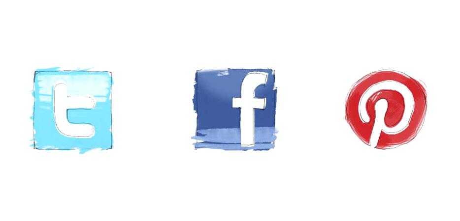 social media brooklyn illustration