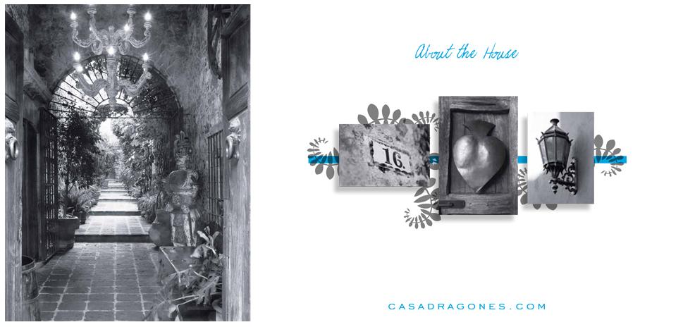 Luxury Casa Dragones ad NYC design