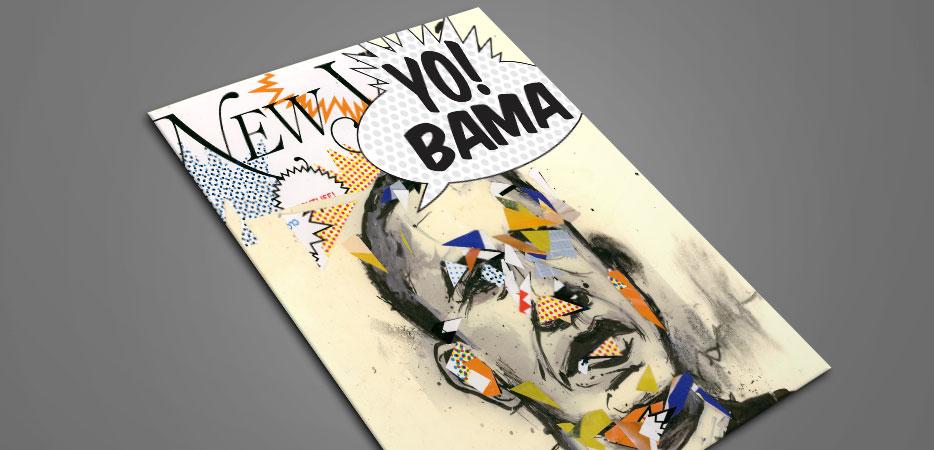 Obama Illustration Portrait Art