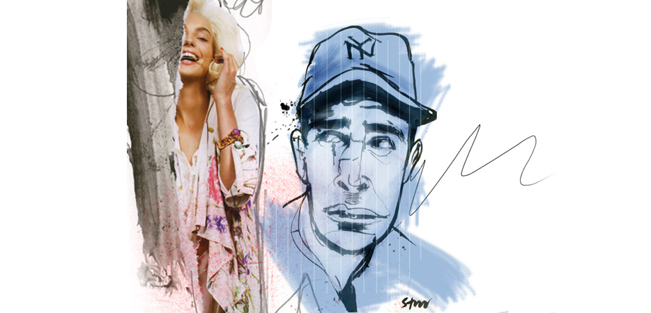 Yankee Illustration Portrait Art
