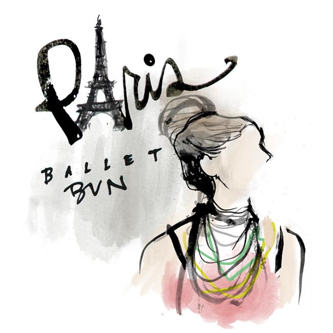Paris Fashion Illustration made in Brooklyn