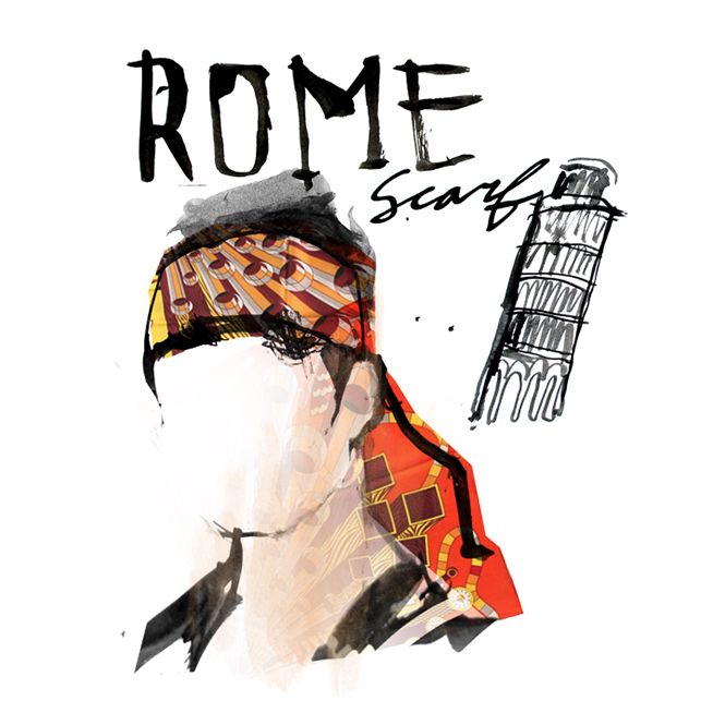 Italian Fashion Illustration made in Brooklyn