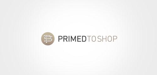 Ecommerce Logo Brand Design Primed to Shop