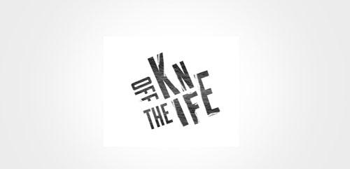 off the knife logo design worstofall