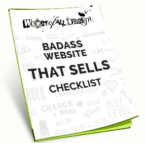 Badass website checklist