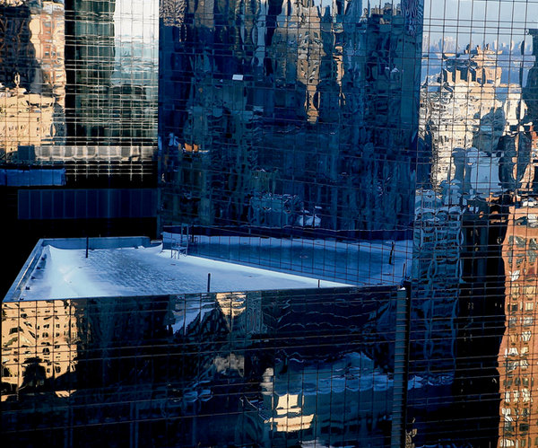 New York View by Abigail O'Brien