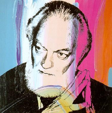 image: Paul Jenkins by Andy Warhol