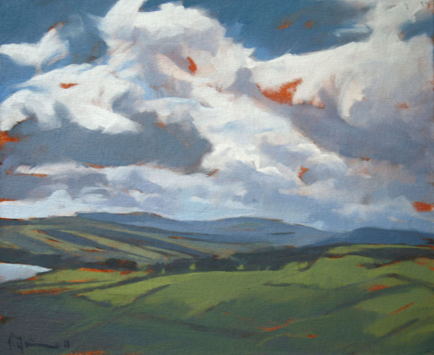 Tracey Quinn_2011_Antrim Coast Study_oil on canvas_25 x 30cm.jpg