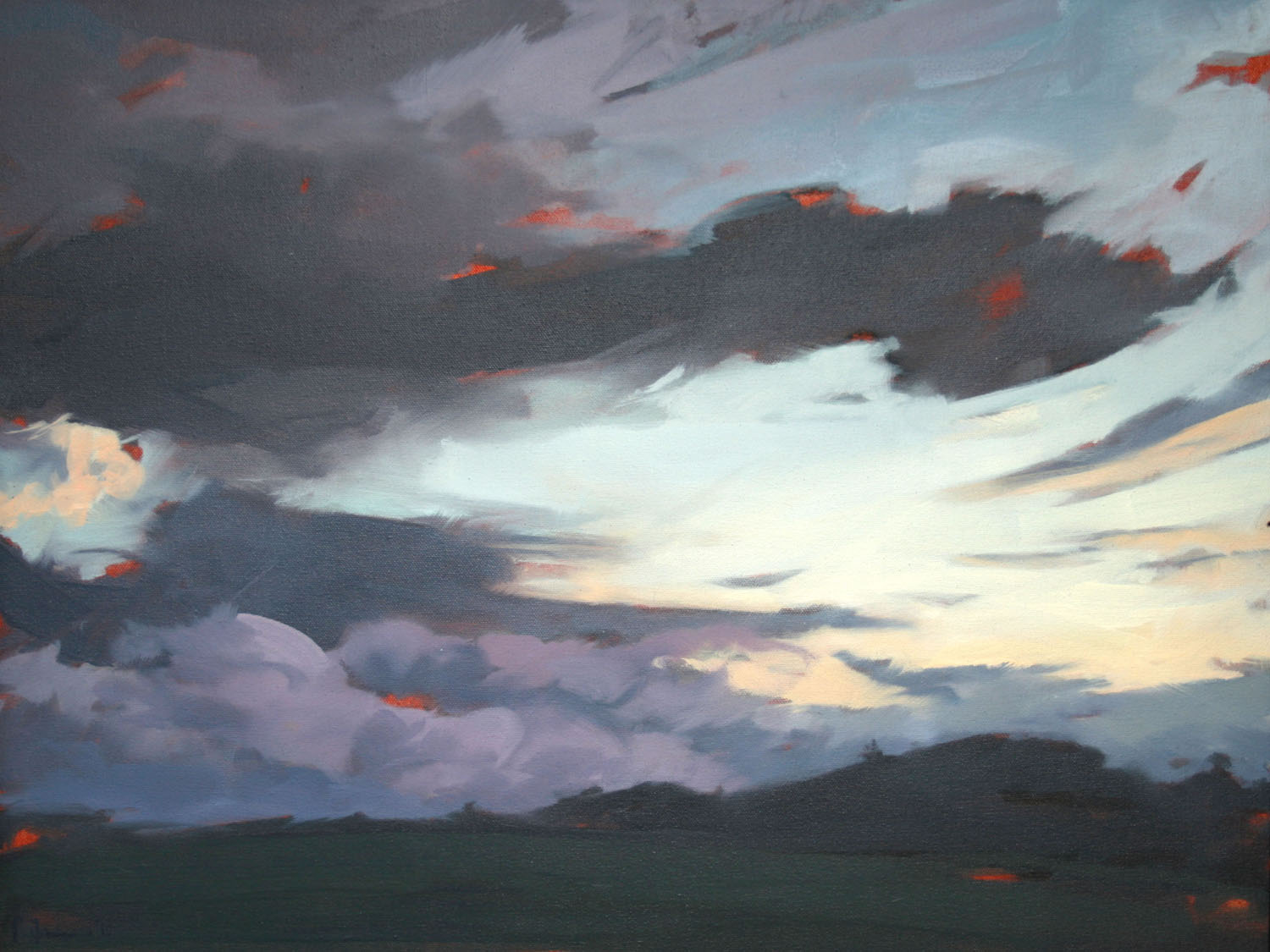Tracey Quinn_2011_Audleystown_oil on canvas_45 x 60cm.jpg