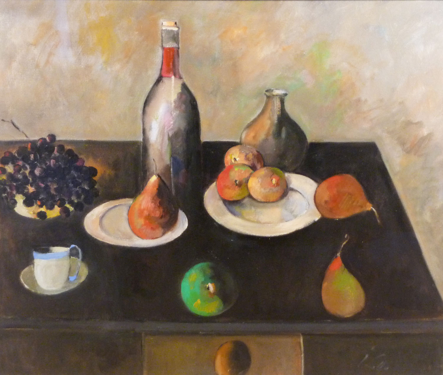 Peter Collis_-_Still Life with Blue Cup_63 x 76cm.jpg