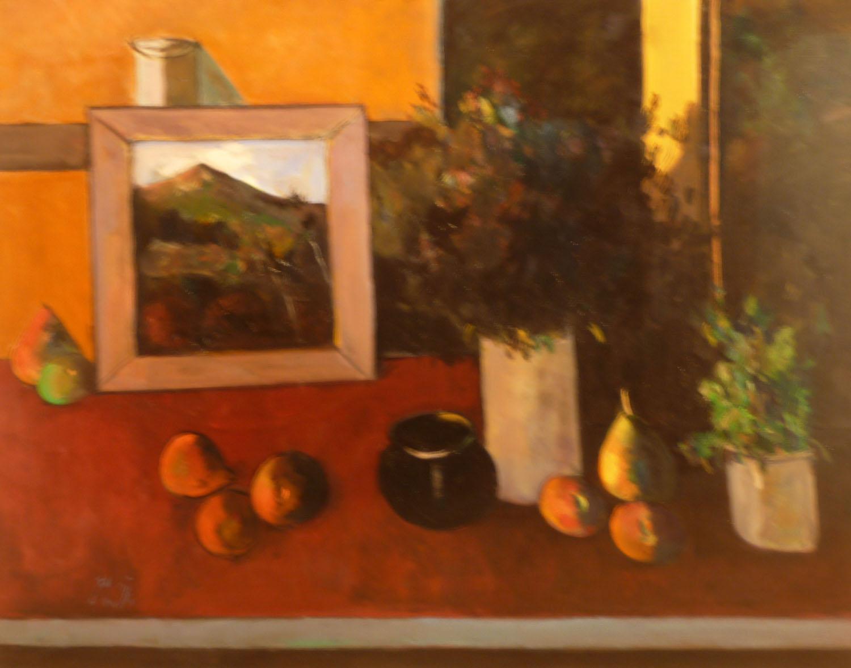 Peter Collis_-_Still Life with Sugarloaf_70 x 90cm.jpg