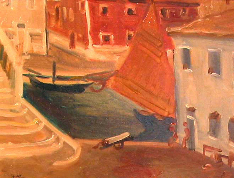 Grace Henry_-_Red Sail, Venice.jpg