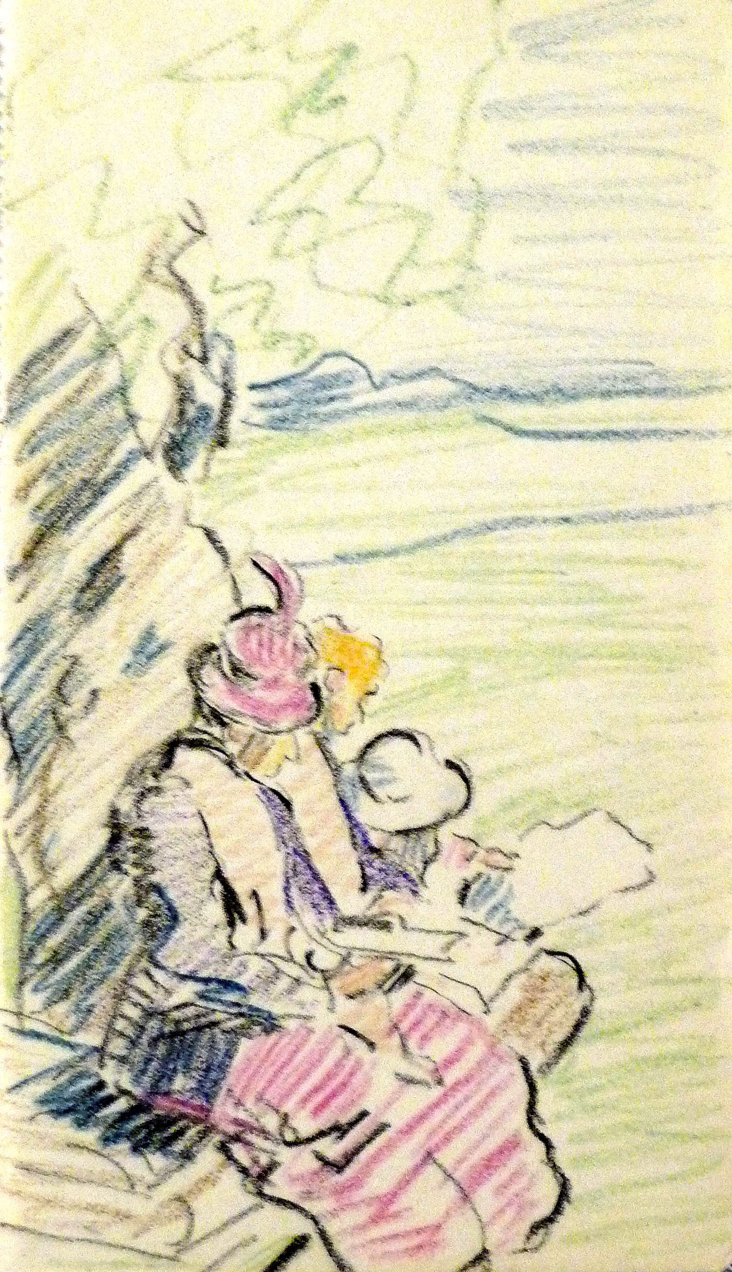 Mary Swanzy_-_The Sketching Party.jpg