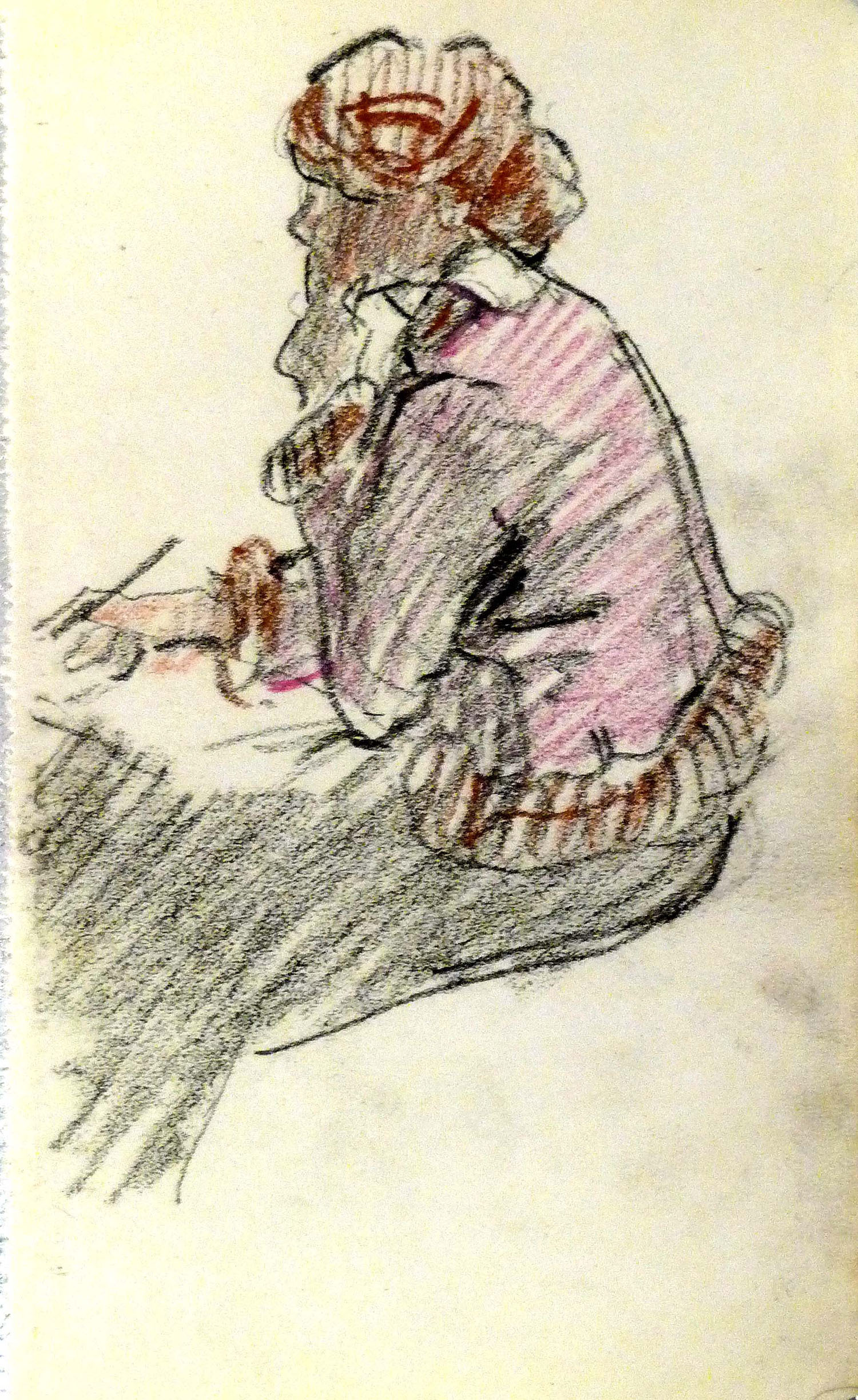 Mary Swanzy_-_Young Girl Sketching.jpg