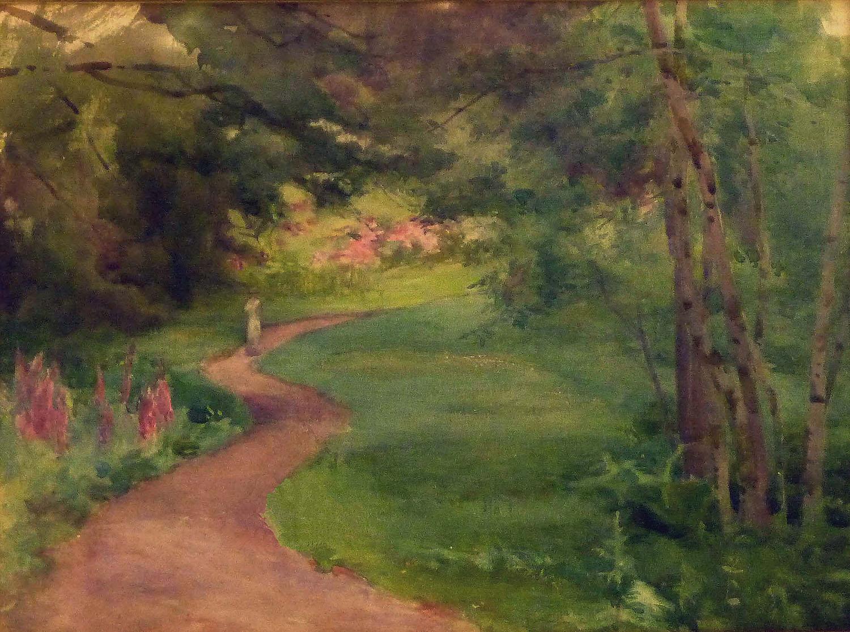 Mildred Ann Butler_-_Stroll through Garden.jpg