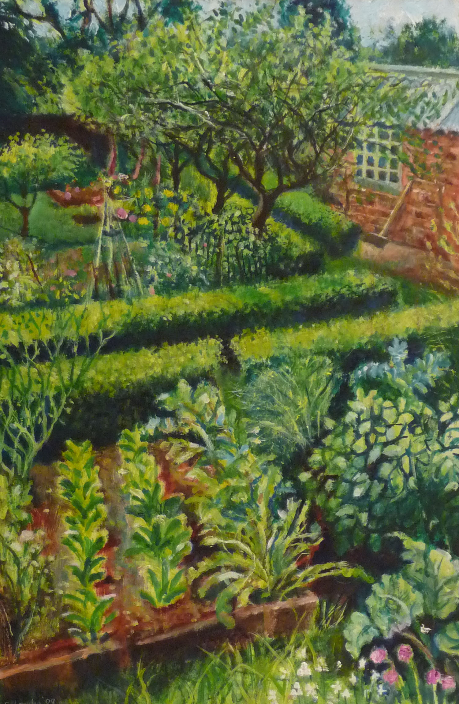 Sarah longley_-_Garden Shed_oil on board_61 x 41cm.jpg